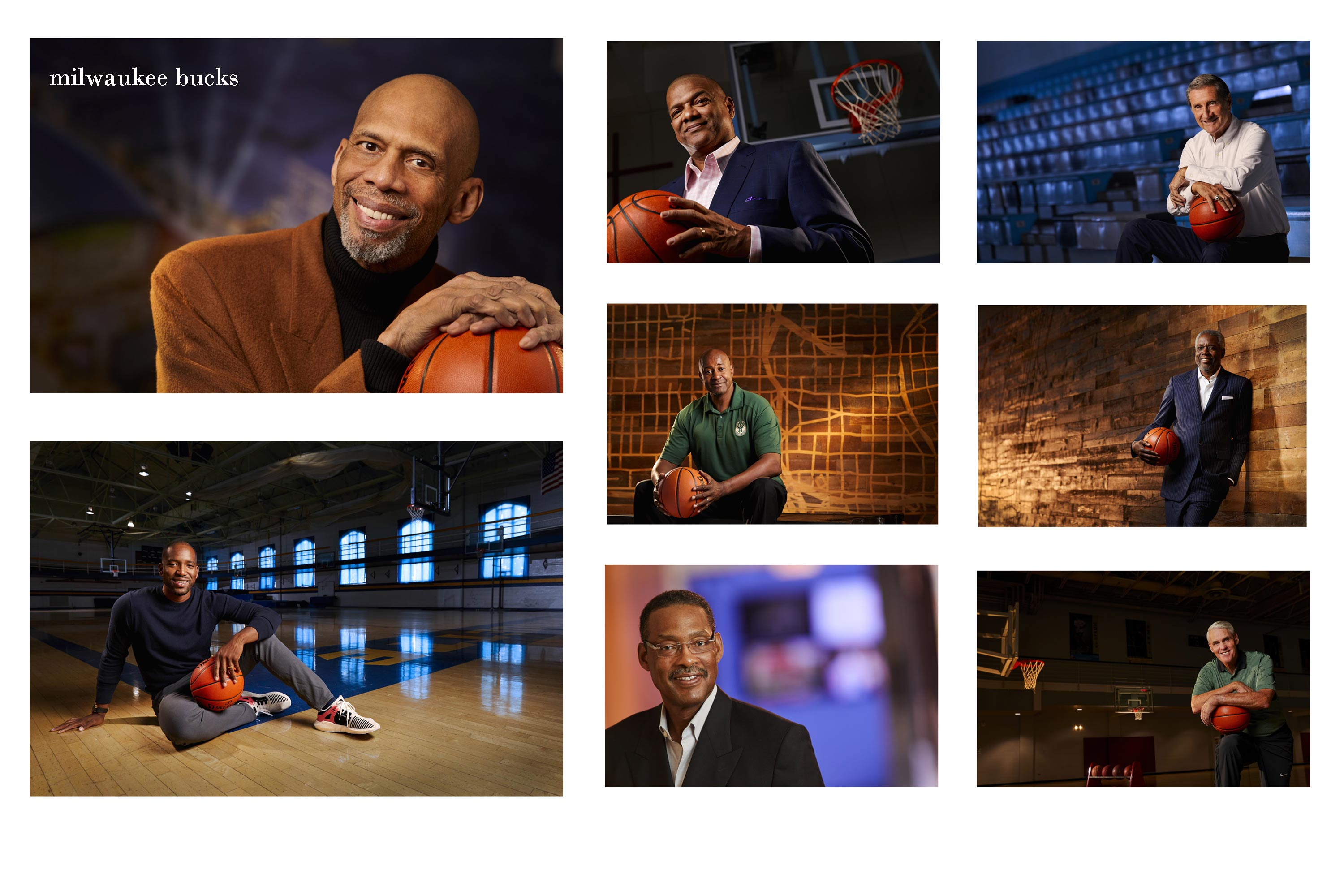 Milwaukee Bucks portraits